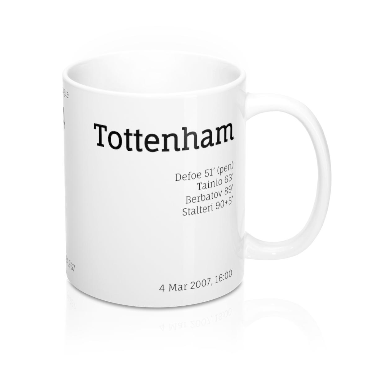 West Ham – Tottenham – Premier League – 2007
